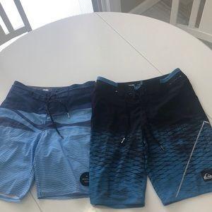 Boys Quicksilver Board Shorts